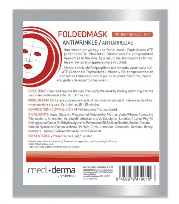 Folded Mask Anti-wrinkle