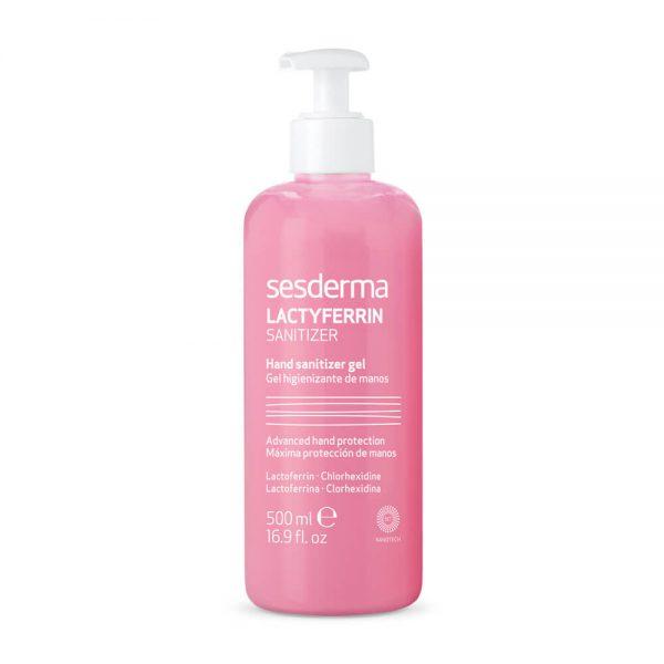 LACTYFERRIN SANITIZER Handdesinfektionsmittel Gel 500 ml
